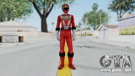 Power Rangers RPM - Red para GTA San Andreas segunda pantalla