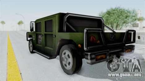 Patriot from Manhunt 2 para GTA San Andreas left