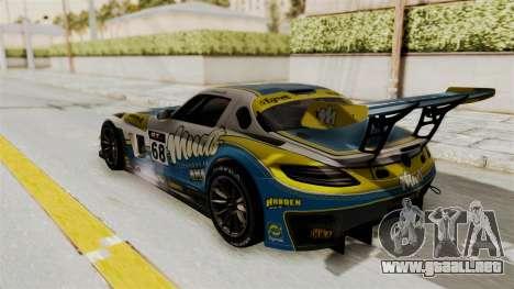 Mercedes-Benz SLS AMG GT3 PJ3 para visión interna GTA San Andreas