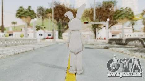 Lollipop Chainsaw Juliet Starling BunnyRabbit para GTA San Andreas tercera pantalla