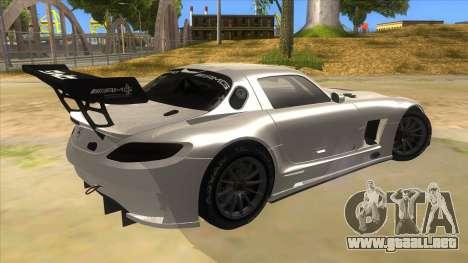 Mercedes Benz SLS AMG GT3 para la visión correcta GTA San Andreas