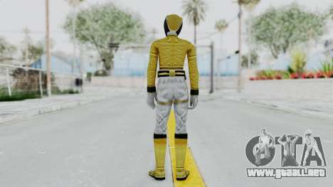 Power Rangers Megaforce - Yellow para GTA San Andreas tercera pantalla