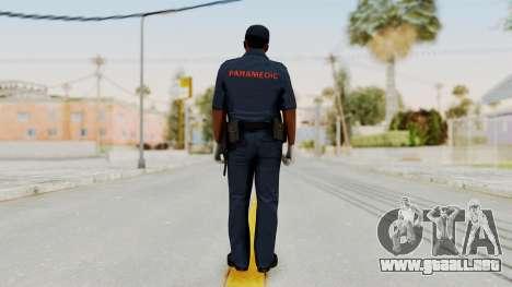 GTA 5 Paramedic LS para GTA San Andreas tercera pantalla