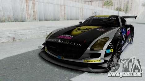 Mercedes-Benz SLS AMG GT3 PJ6 para el motor de GTA San Andreas