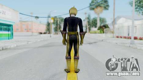 Power Rangers RPM - Gold para GTA San Andreas tercera pantalla