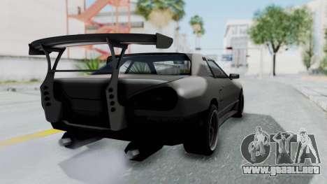 Elegy Rocket Bunny 1.0 para GTA San Andreas left