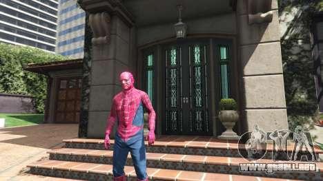GTA 5 Spider-man segunda captura de pantalla