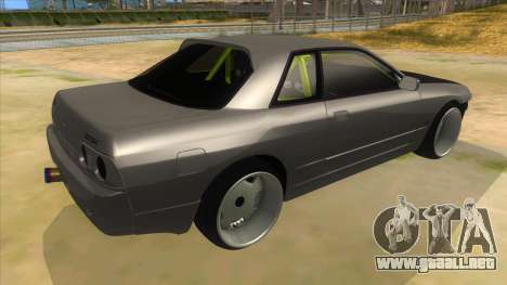 Nissan Skyline R32 Drift Monster Energy para la visión correcta GTA San Andreas