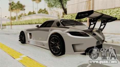 Mercedes-Benz SLS AMG GT3 PJ3 para la visión correcta GTA San Andreas
