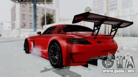 Mercedes-Benz SLS AMG GT3 PJ6 para GTA San Andreas left