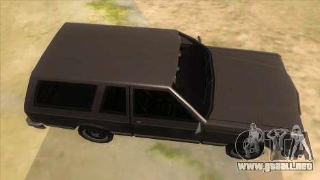 Regina Coupe para visión interna GTA San Andreas