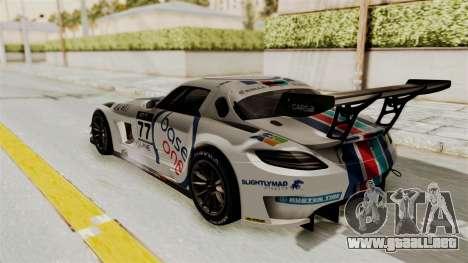 Mercedes-Benz SLS AMG GT3 PJ3 para GTA San Andreas interior