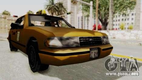 GTA 3 - Taxi para la visión correcta GTA San Andreas