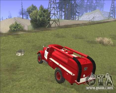 GAZ 63 de Bomberos para la visión correcta GTA San Andreas
