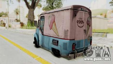 Hitman Absolution - Ice Cream Van para GTA San Andreas left