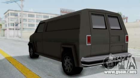 Burrito from Manhunt 2 para la visión correcta GTA San Andreas