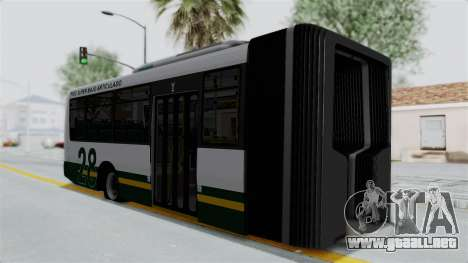 TodoBus Pompeya II Scania K310 Linea 28 Trailer para GTA San Andreas
