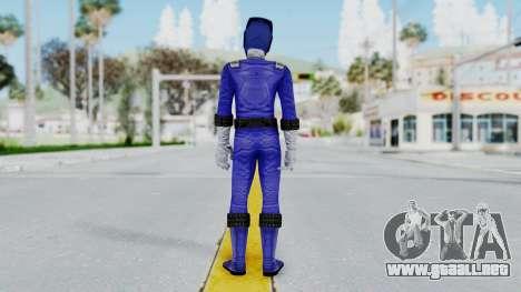 Power Rangers RPM - Blue para GTA San Andreas tercera pantalla