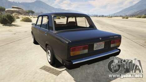Lada 2107 para GTA 5
