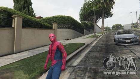 GTA 5 Spider-man cuarto captura de pantalla
