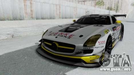 Mercedes-Benz SLS AMG GT3 PJ6 para vista inferior GTA San Andreas
