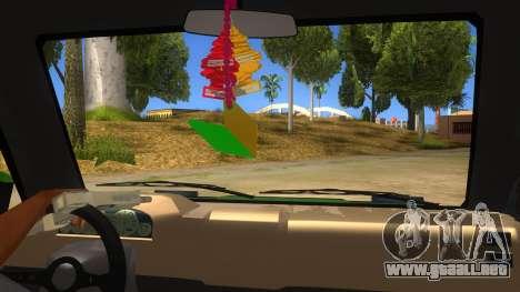 Toyota Kijang Grand Extra IKC para visión interna GTA San Andreas