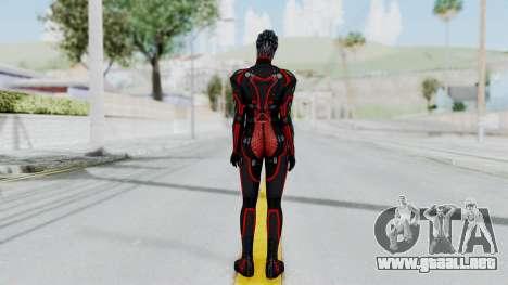 Mass Effect 2 Monrith Commando para GTA San Andreas tercera pantalla