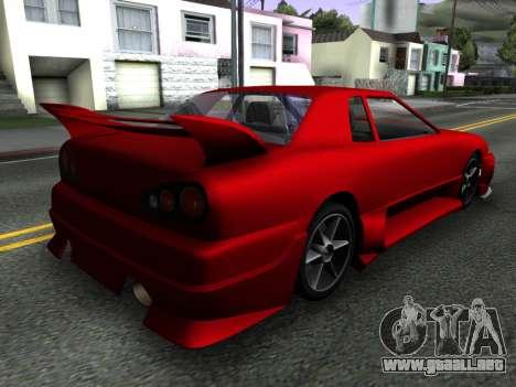 Elegy PFR v1.0 para GTA San Andreas left