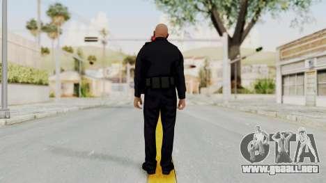 GTA 5 LV Cop para GTA San Andreas tercera pantalla
