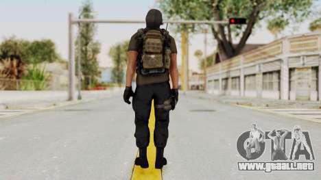 CoD AW KVA SMG para GTA San Andreas tercera pantalla