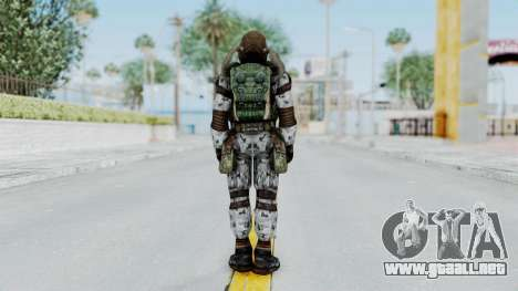 Monolith Scientific Suit para GTA San Andreas tercera pantalla