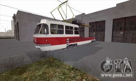 Tatra T3 servicio para GTA San Andreas left