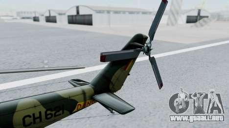 Mi-24V Sri-Lanka Air Force CH621 para la visión correcta GTA San Andreas