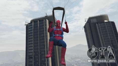 Spider-man para GTA 5
