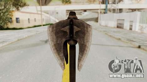 Skyrim Iron Mace para GTA San Andreas segunda pantalla