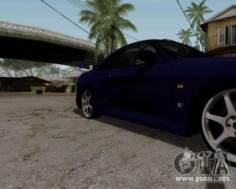 Nissan R33 GT-R Tunable para las ruedas de GTA San Andreas