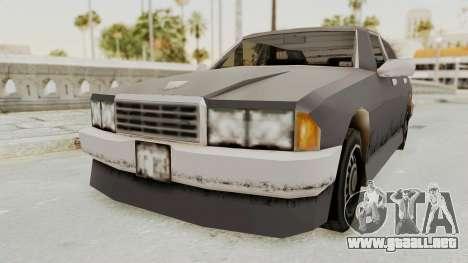 GTA 3 Mafia Sentinel para la visión correcta GTA San Andreas