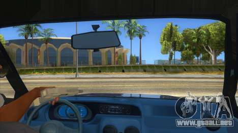 Dacia Solenza V2 para visión interna GTA San Andreas