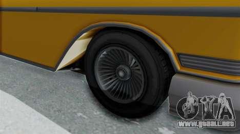 GTA 5 Declasse Tornado Bobbles and Plaques IVF para GTA San Andreas vista hacia atrás