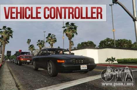 GTA 5 Vehicle Controller