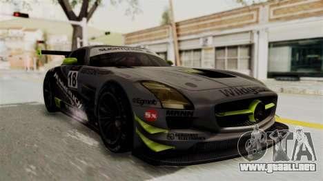 Mercedes-Benz SLS AMG GT3 PJ3 para el motor de GTA San Andreas