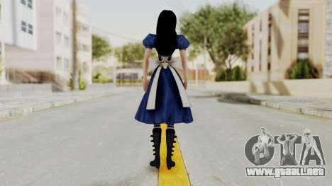 Alice Madness Returns para GTA San Andreas tercera pantalla