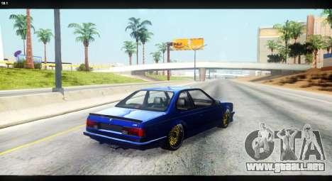 BMW M635 CSi (E24) para visión interna GTA San Andreas
