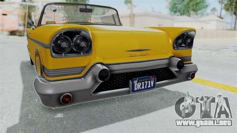 GTA 5 Declasse Tornado Bobbles and Plaques IVF para visión interna GTA San Andreas