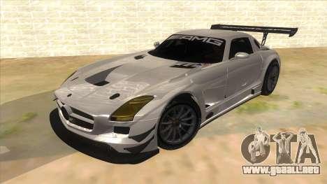 Mercedes Benz SLS AMG GT3 para GTA San Andreas