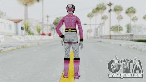 Power Rangers Samurai - Pink para GTA San Andreas tercera pantalla