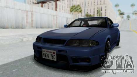 Nissan Skyline R33 GT-R V-Spec 1995 para GTA San Andreas