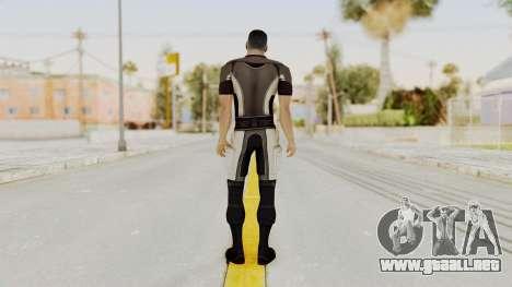 Mass Effect 2 Shepard Casual para GTA San Andreas tercera pantalla