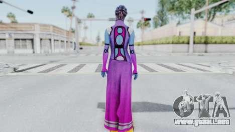 Mass Effect 1 Shaira Dress para GTA San Andreas tercera pantalla