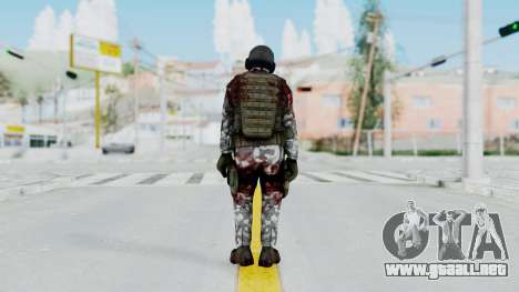 Black Mesa - Wounded HECU Marine v1 para GTA San Andreas tercera pantalla